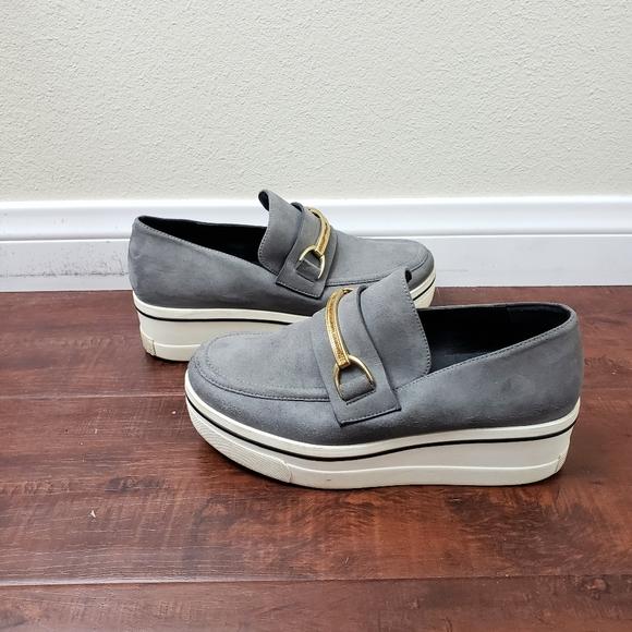 Binx Suede Platform Loafers